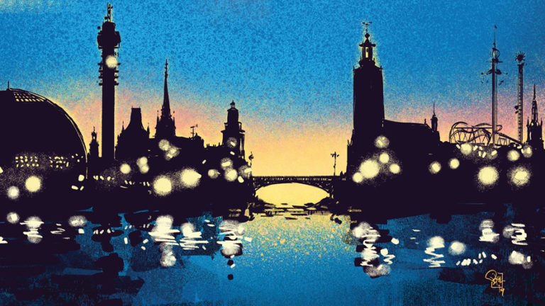 Stockholm skyline Fantomen Tecnare: Jan Bielecki