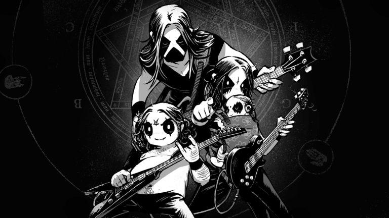 Belzebubs spelar gitarr